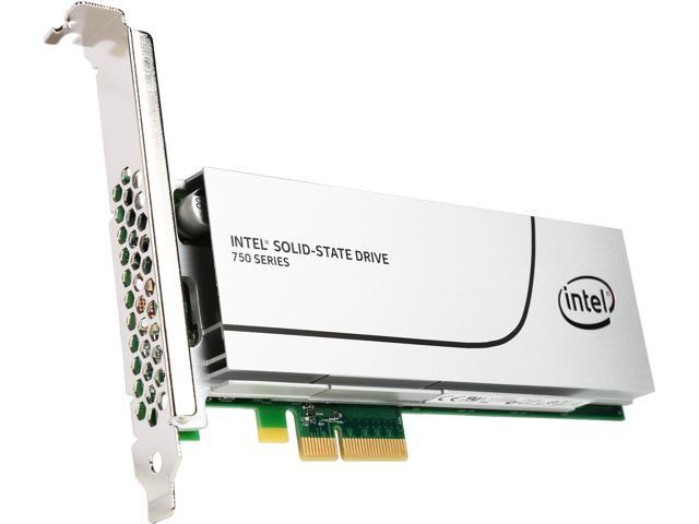 Intel 750 Series AIC 1.2TB PCI-Express 3.0 MLC Internal Solid State Drive (SSD) SSDPEDMW012T401