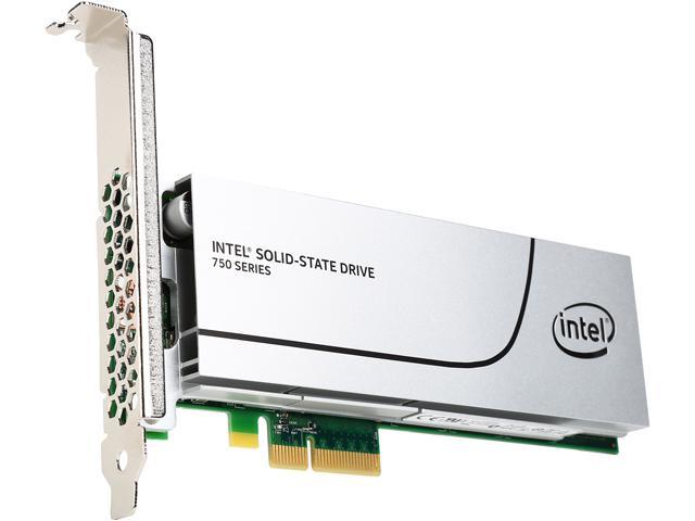 Intel 750 Series AIC 400GB PCI-Express 3.0 x4 MLC Internal Solid State Drive (SSD) SSDPEDMW400G4X1
