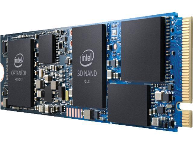 Intel M.2 22 x 80mm Optane Memory 32GB + SSD 512GB PCIe NVMe 3.0 x4 3D NAND Internal Solid State Drive (SSD) HBRPEKNX0202A01