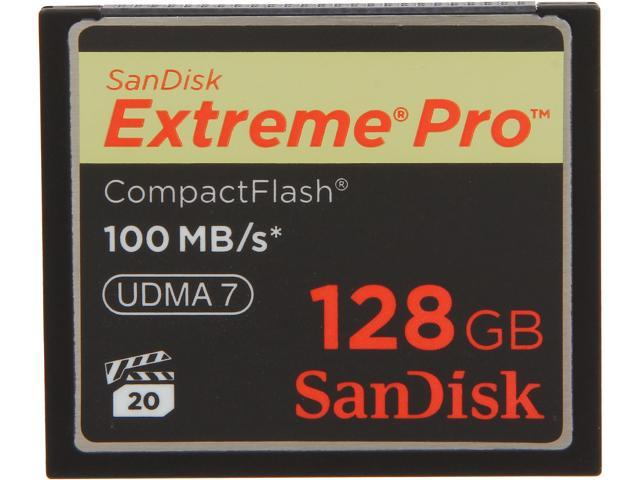 SanDisk 128GB Compact Flash (CF) Flash Card Model SDCFXP-128G-A91