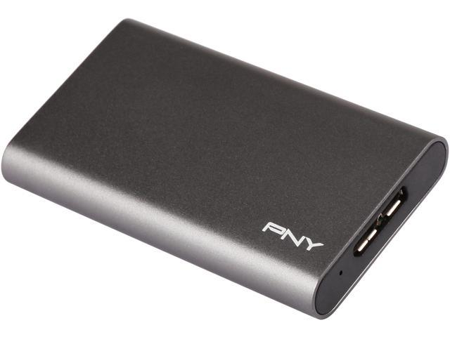 Pny Elite 480gb Usb 3 0 Portable Solid State Drive Ssd
