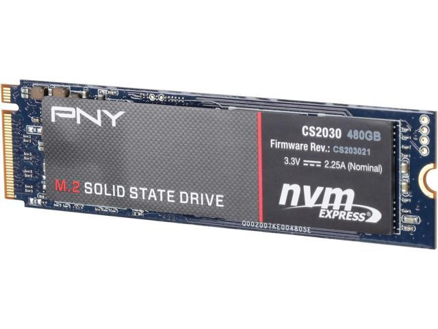Pny Cs2030 480gb M 2 2280 Pcie Nvme Internal Solid State Drive Ssd
