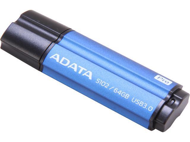 ADATA AS102P64GRBL 64GB USB 3.0 Flash Drive