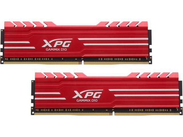 PC4 24000 2 x 8GB XPG GAMMIX D10 16GB 288-Pin DDR4 3000 CL16 SDRAM