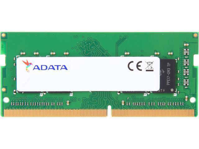 ADATA Premier Series 8GB 260-Pin DDR4 SO-DIMM DDR4 2666 (PC4 21300) Laptop  Memory Model AD4S266638G19-R - Newegg com