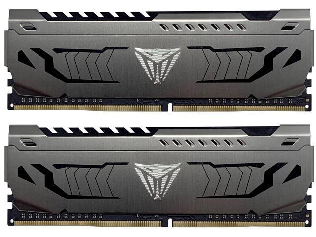 Patriot Viper Steel 16GB (2 x 8GB) 288-Pin DDR4 SDRAM DDR4 3200 (PC4 25600) Intel XMP 2.0 Desktop Memory Model PVS416G320C6K