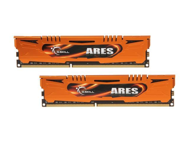G.SKILL Ares Series 16GB (2 x 8GB) 240-Pin DDR3 SDRAM DDR3 1600 (PC3 12800) Desktop Memory Model F3-1600C10D-16GAO