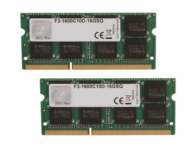 Memory PC3-12800 SODIMM For ALIENWARE ALPHA 2x8GB 16GB
