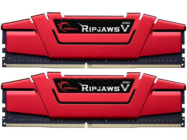 G.SKILL Ripjaws V Series 16GB (2 x 8GB) 288-Pin DDR4 SDRAM DDR4 2133 (PC4 17000) Desktop Memory Model F4-2133C15D-16GVR