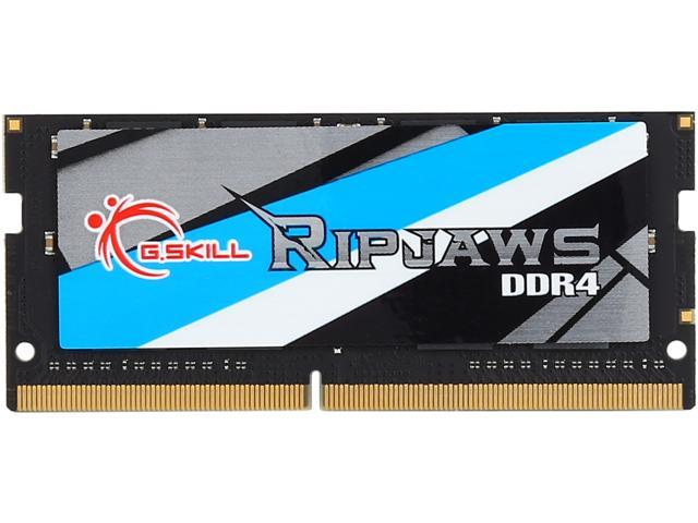 addff7f11 G.SKILL Ripjaws Series 16GB 260-Pin DDR4 SO-DIMM DDR4 2133 (PC4 17000)  Laptop Memory Model F4-2133C15S-16GRS