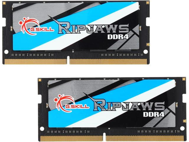 G SKILL Ripjaws Series 32GB (2 x 16GB) 260-Pin DDR4 SO-DIMM DDR4 2133 (PC4  17000) Laptop Memory Model F4-2133C15D-32GRS - Newegg com