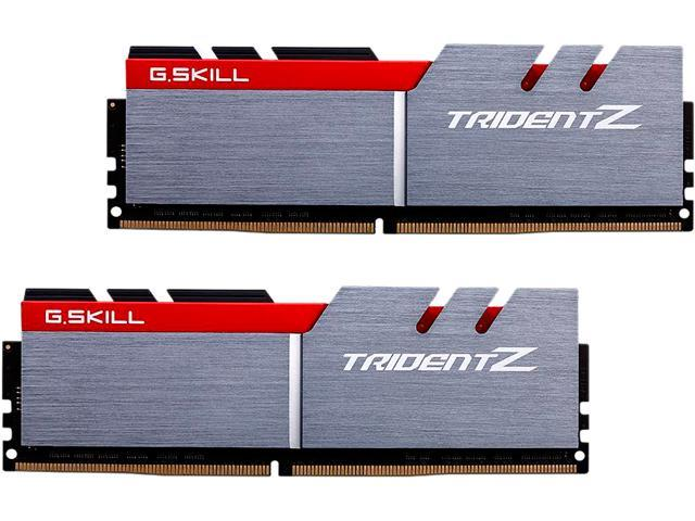 G.SKILL TridentZ Series 16GB (2 x 8GB) 288-Pin DDR4 SDRAM DDR4 3600 (PC4 28800) Intel Z170 / Z270 / Z370 / X299 Desktop Memory Model F4-3600C16D-16GTZ