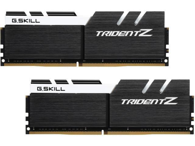 G.SKILL TridentZ Series 32GB (2 x 16GB) 288-Pin DDR4 SDRAM DDR4 3200 (PC4 25600) Intel Z370 Platform Desktop Memory Model F4-3200C14D-32GTZKW