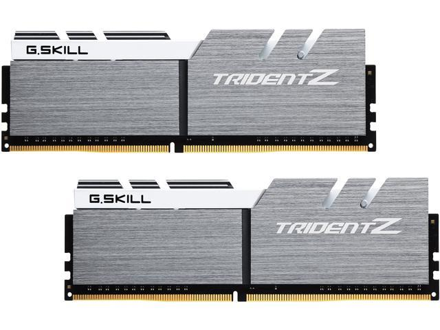 288-Pin DDR4 SDRAM DDR4 3200 PC4 25600 2 x 8GB G.SKILL TridentZ Series 16GB