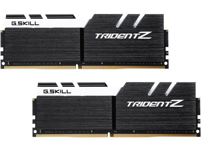 G.SKILL TridentZ Series 32GB (2 x 16GB) 288-Pin DDR4 SDRAM DDR4 3200 (PC4 25600) Intel Z370 Platform Desktop Memory Model F4-3200C16D-32GTZKW