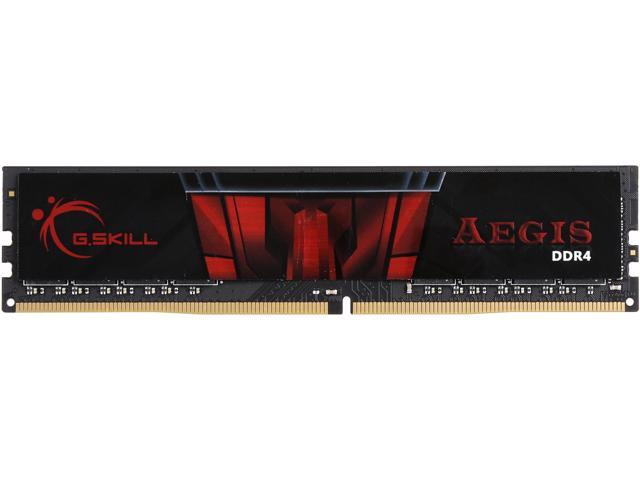 G SKILL Aegis 8GB 288-Pin DDR4 SDRAM DDR4 3000 (PC4 24000) Memory (Desktop  Memory) Model F4-3000C16S-8GISB - Newegg com