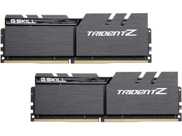 G SKILL TridentZ Series 32GB (2 x 16GB) 288-Pin DDR4 SDRAM DDR4 4000 (PC4  32000) Intel Z370 Desktop Memory Model F4-4000C19D-32GTZKK - Newegg com