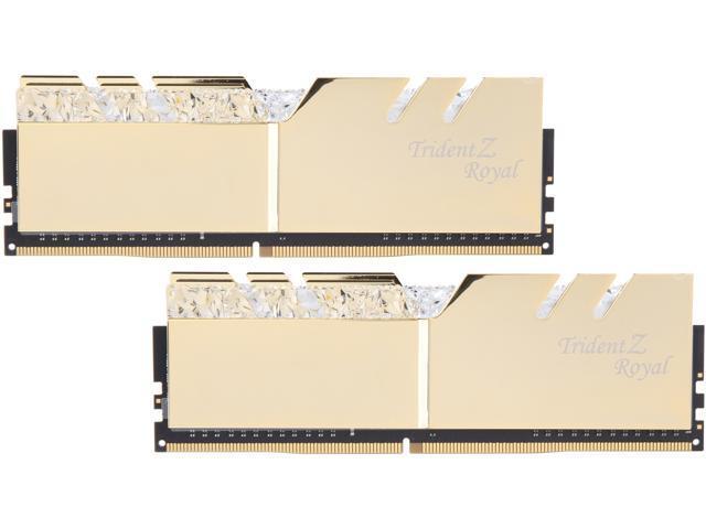 G SKILL Trident Z Royal Series 32GB (2 x 16GB) 288-Pin DDR4