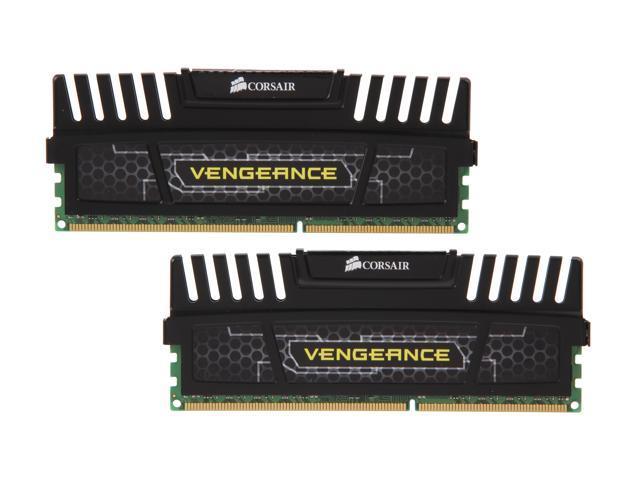 CORSAIR Vengeance 8GB (2 x 4GB) 240-Pin DDR3 SDRAM DDR3 1600 (PC3 12800)  Desktop Memory Model CMZ8GX3M2A1600C9 - Newegg com