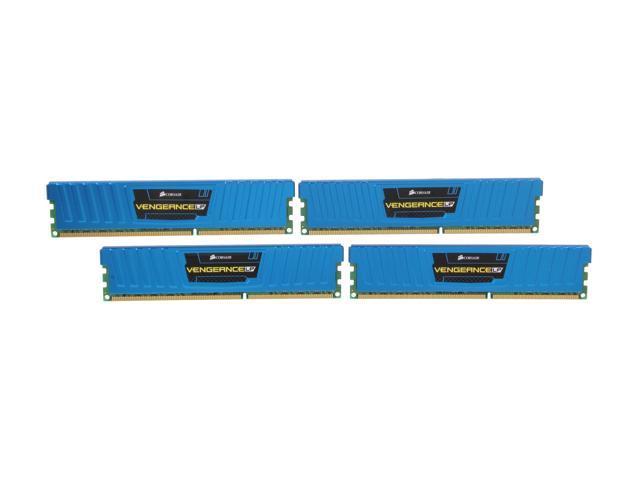 CORSAIR Vengeance LP 16GB (4 x 4GB) 240-Pin DDR3 SDRAM DDR3 1600 (PC3  12800) Desktop Memory Model CML16GX3M4A1600C9B - Newegg com