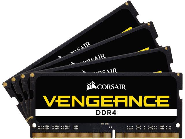 CORSAIR Vengeance Performance 32GB (4 x 8GB) 260-Pin DDR4 SO-DIMM DDR4 3600  (PC4 28800) Laptop Memory Model CMSX32GX4M4X3600C16 - Newegg com