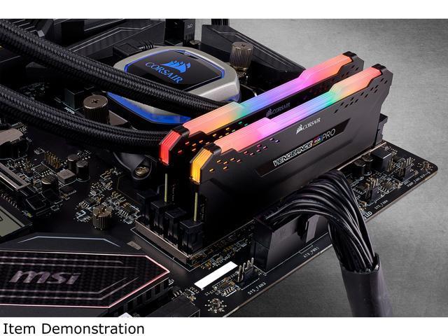 CORSAIR Vengeance RGB Pro 16GB (2 x 8GB) 288-Pin DDR4 DRAM DDR4 3200 (PC4  25600) Desktop Memory Model CMW16GX4M2C3200C16 - Newegg ca