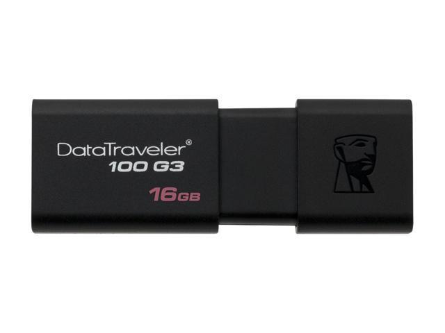New Kingston DataTraveler DT100 G3 16GB 16G USB 3.0 Flash Drive