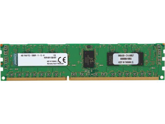 4GB Kingston KVR16R11S8//4KF Server Memory RAM DDR3 SDRAM F-Die ECC Registered
