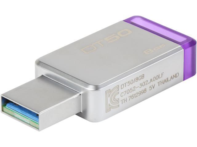 Kingston DataTraveler50 128GB USB3.1 3.0 Flash Metal Pen Drive Tracking included