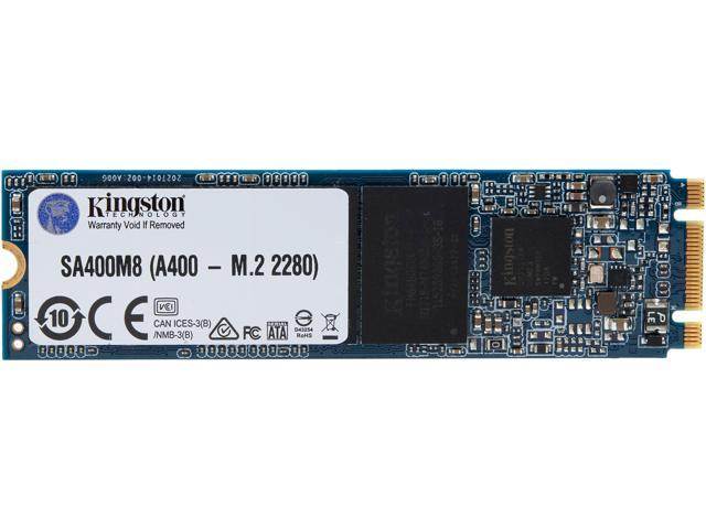 Kingston A400 M.2 2280 120GB SATA III 3D NAND Internal Solid State Drive  (SSD) SA400M8/120G Internal SSDs - Newegg.com