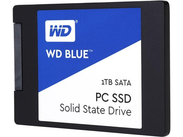 WD Blue 1TB Internal SSD Solid State Drive - SATA 6Gb/s 2 5 Inch -  WDS100T1B0A - Newegg com