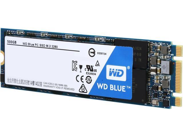 Blue 500GB Internal SATA Solid State Drive WD