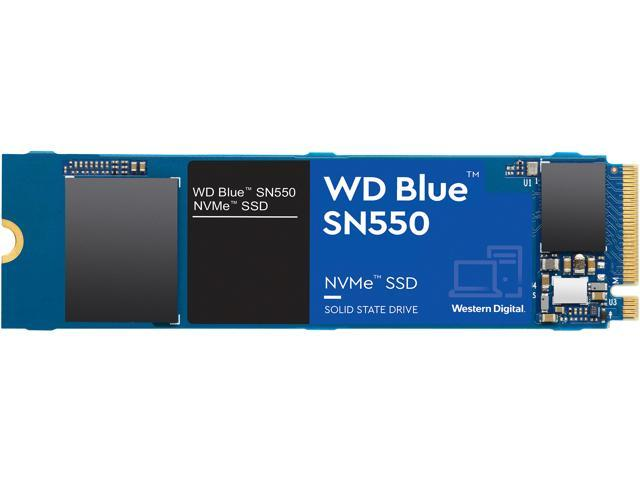 Western Digital WD Blue SN550 NVMe M.2 2280 1 To PCI-Express 3.0 x4 3D NAND interne Solid State Drive (SSD) WDS100T2B0C