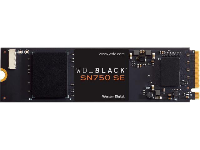 Western Digital WD Black SN750 SE NVMe M.2 2280 1TB PCI-Express 4.0 Internal Solid State Drive (SSD) WDS100T1B0E