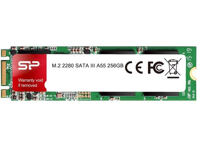 Silicon Power Ace A55 M 2 2280 256GB SATA III 3D NAND Internal Solid State  Drive (SSD) SP256GBSS3A55M28 - Newegg com