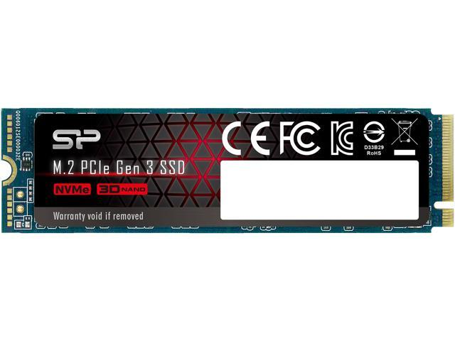 Silicon Power 512GB NVMe M 2 2280 PCIe Gen3 x4 TLC R/W up to 3,400/2,300  MB/s SSD (SP512GBP34A80M28) - Newegg com