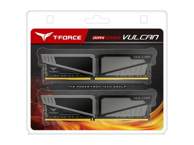 Team T-Force Vulcan 16GB (2 x 8GB) 288-Pin DDR4 SDRAM DDR4 2400 (PC4 19200)  Desktop Memory Model TLGD416G2400HC14DC01 - Newegg com
