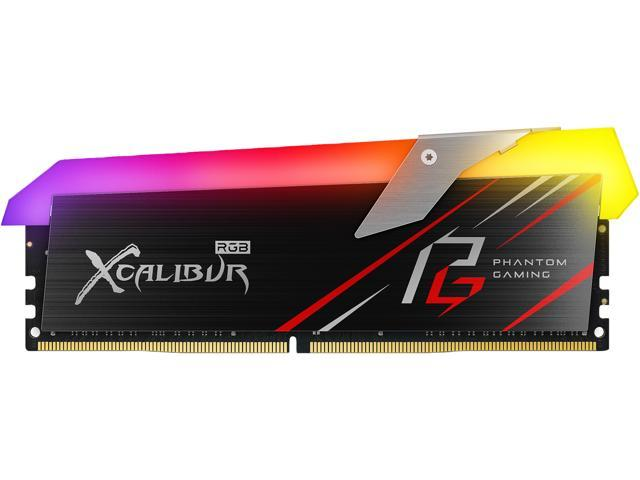 Team XCALIBUR Phantom Gaming RGB 16GB (2 x 8GB) 288-Pin DDR4 SDRAM DDR4  3600 (PC4 28800) Desktop Memory Model TF8D416G3600HC18EDC01 - Newegg com
