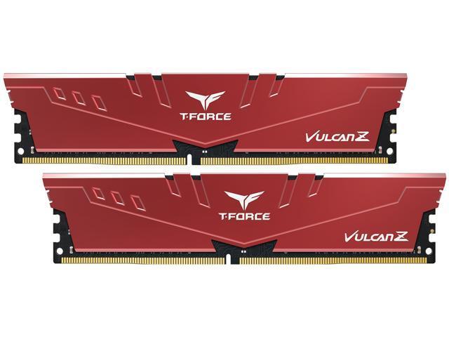 Team Group T-Force Vulcan Z 16GB (2 x 8GB) PC4-25600 Desktop Memory