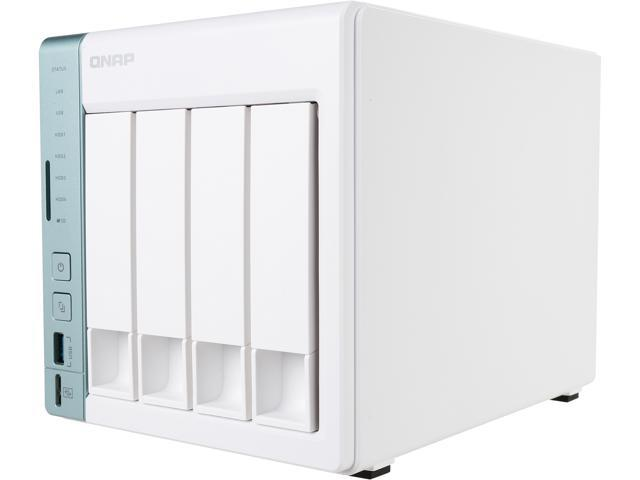 QNAP 4-bay TS-451A personal cloud NAS / DAS with USB direct access, HDMI  local display - Newegg ca