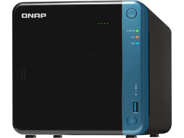QNAP TS-453Be-2G-US 4-Bay Professional NAS  Intel Celeron Apollo Lake J3455  Quad-core CPU Hardware Encryption - Newegg com