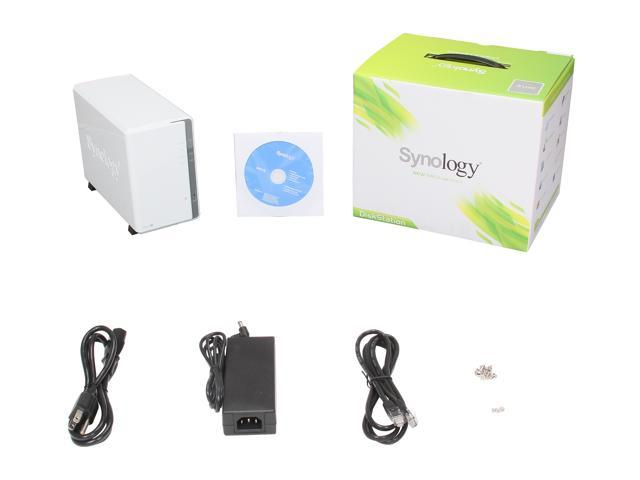 Synology DS213j Network Storage - Newegg com