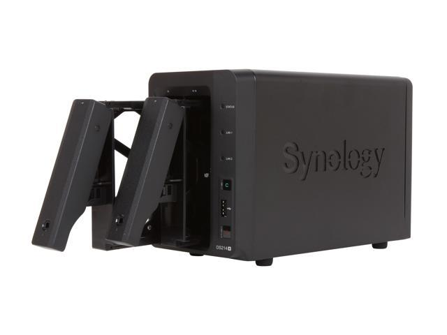 Synology DS214+ DiskStation 2-Bay Network Storage - Newegg com