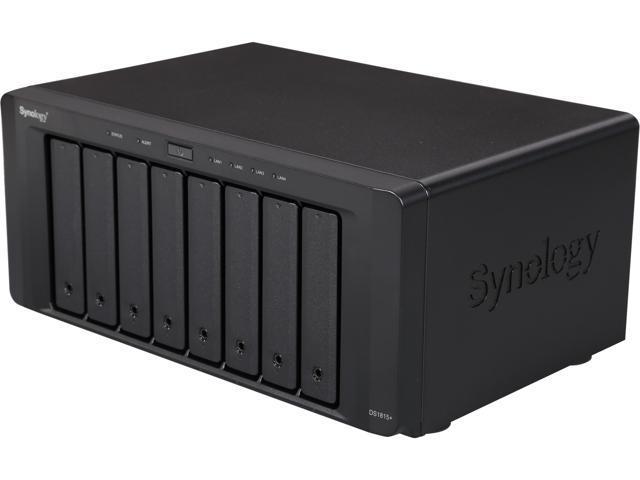 Synology Diskstation DS1815+ NAS - Newegg com
