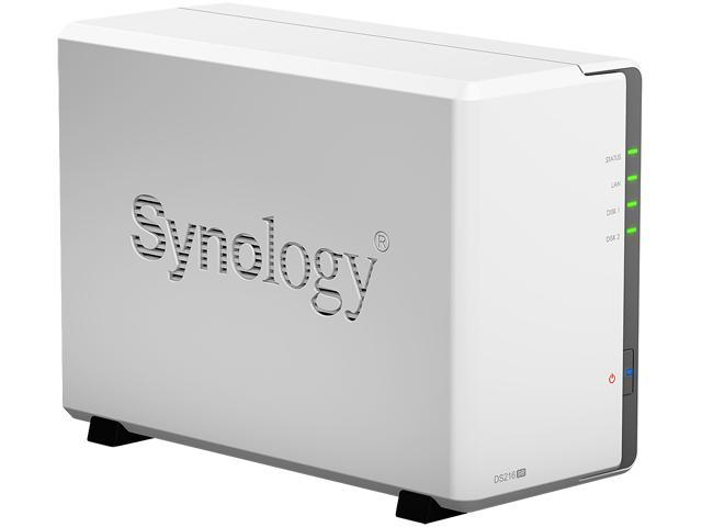 Synology 2 Bay NAS DiskStation DS216se (Diskless) - Newegg com