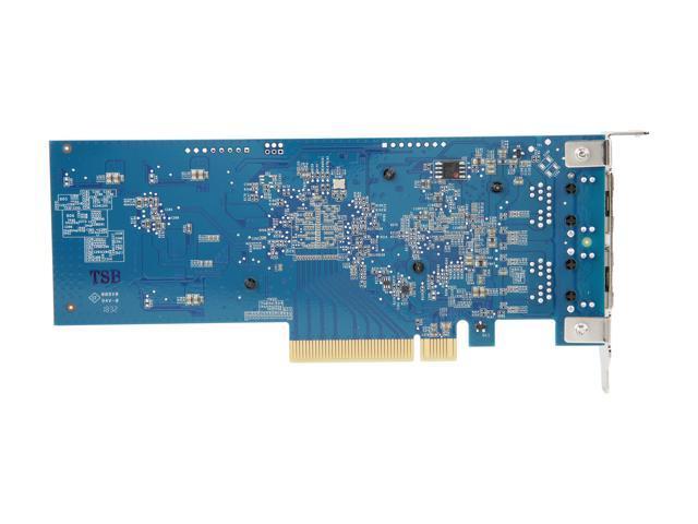 Synology 10Gb Ethernet Adapter 2 RJ45 (E10G18-T2) - Newegg com