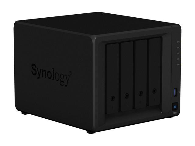 Synology 4 Bay NAS DiskStation DS418 (Diskless) - Newegg com