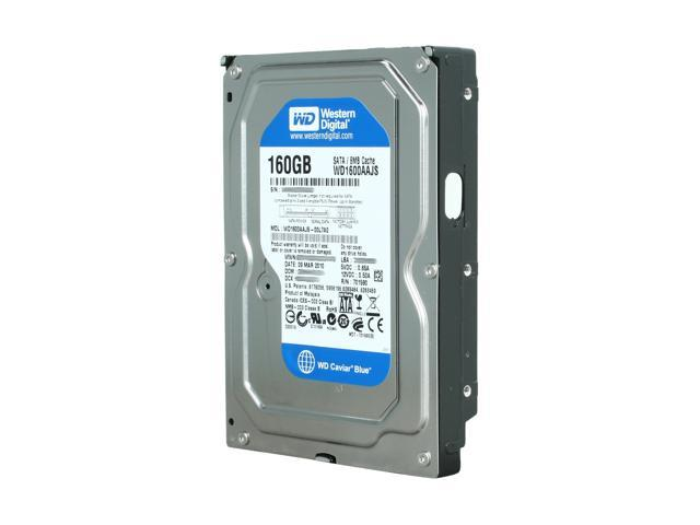 Western Digital Blue WD1600AAJS 160GB 7200 RPM 8MB Cache SATA 3.0Gb ...