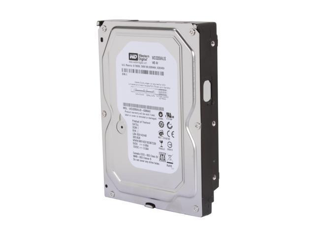 """Western Digital WD3200AVJS 320GB 8MB Cache 7200RPM 3.5/"""" SATA 3.0Gb//s Hard Drive"""