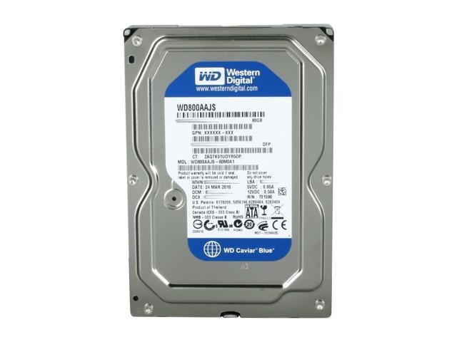 "LOT OF 20 80GB 3.5/"" SATA Desktop Hard Drives Mix Brand Seagate WD Hitachi"